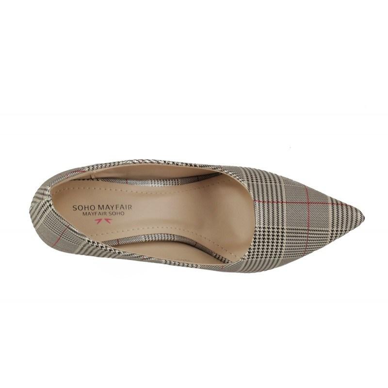 Дамски елегантни обувки на висок ток Soho Mayfair карета