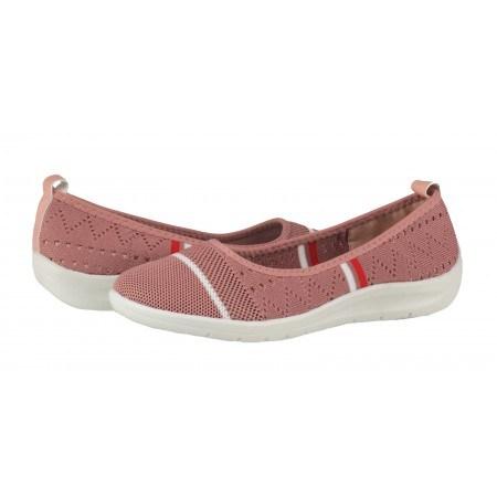 Дамски равни обувки без връзки Soho Mayfair розови