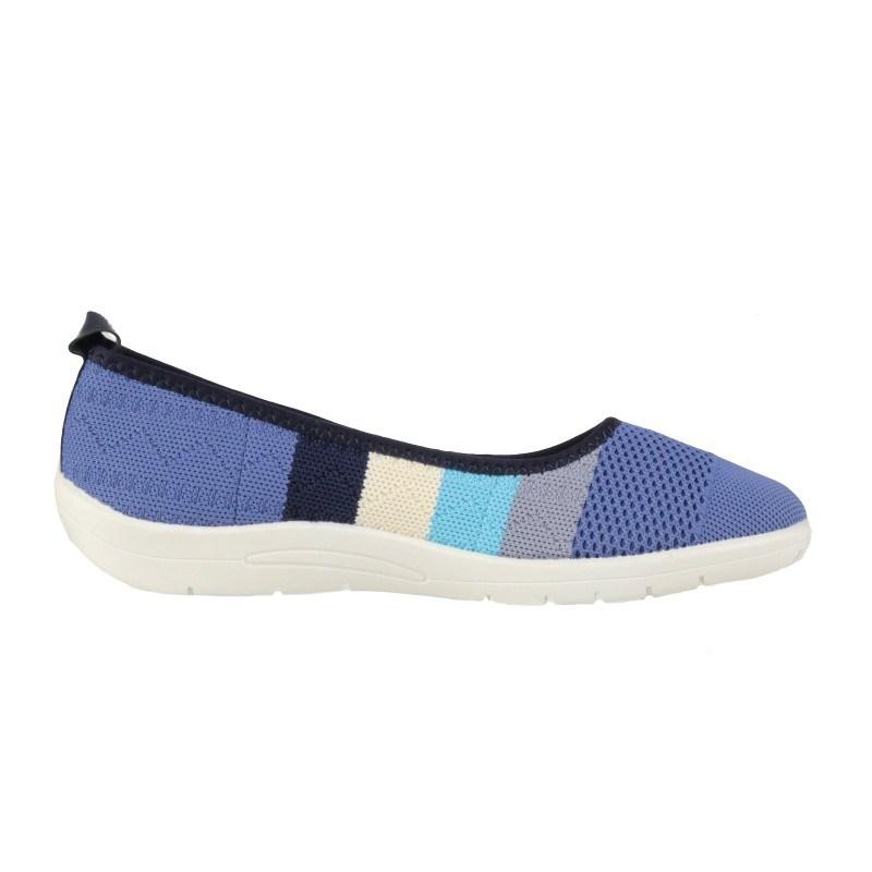 Дамски равни обувки без връзки Soho Mayfair сини