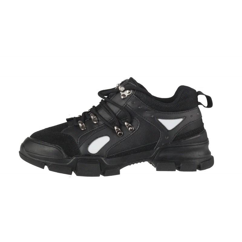 Дамски спортни обувки с връзки Soho Mayfair черни