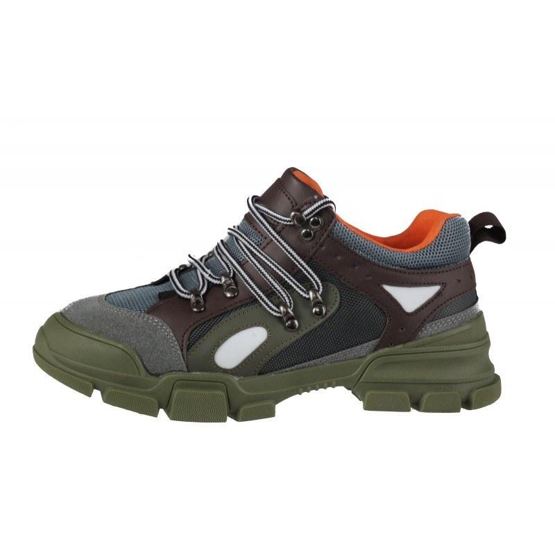 Дамски спортни обувки с връзки Soho Mayfair зелени