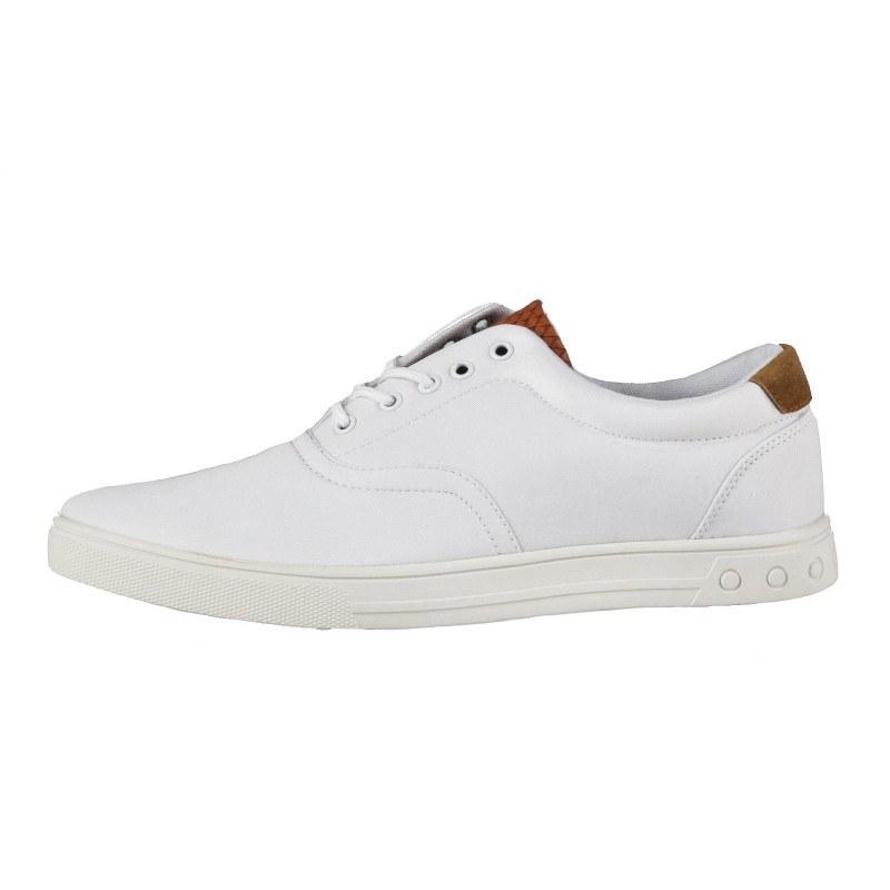 Мъжки ежедневни обувки с връзки Soho Mayfair бели