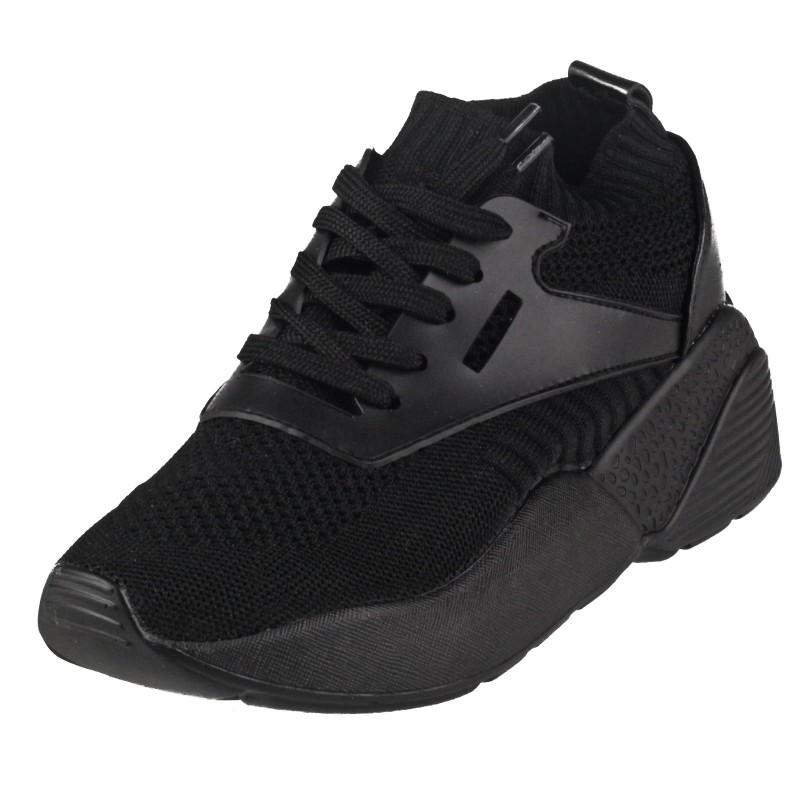 Дамски спортни обувки тип чорап Soho Mayfair черни