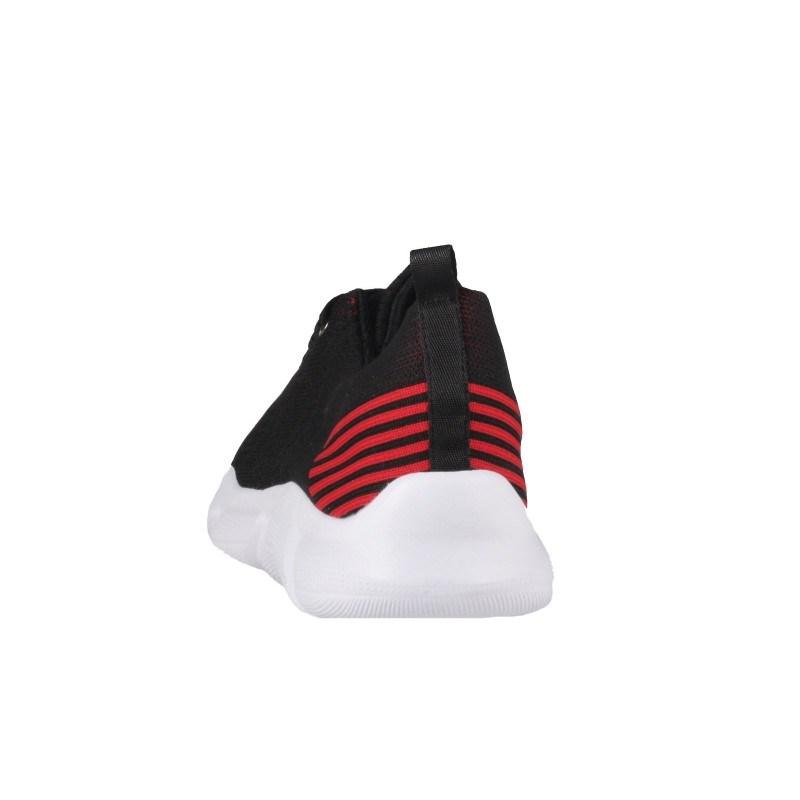 Мъжки спортни обувки с връзки Soho Mayfair черни/червени
