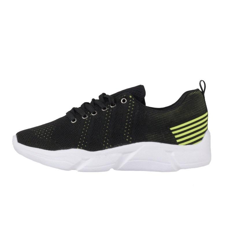 Мъжки спортни обувки с връзки Soho Mayfair черни/зелени
