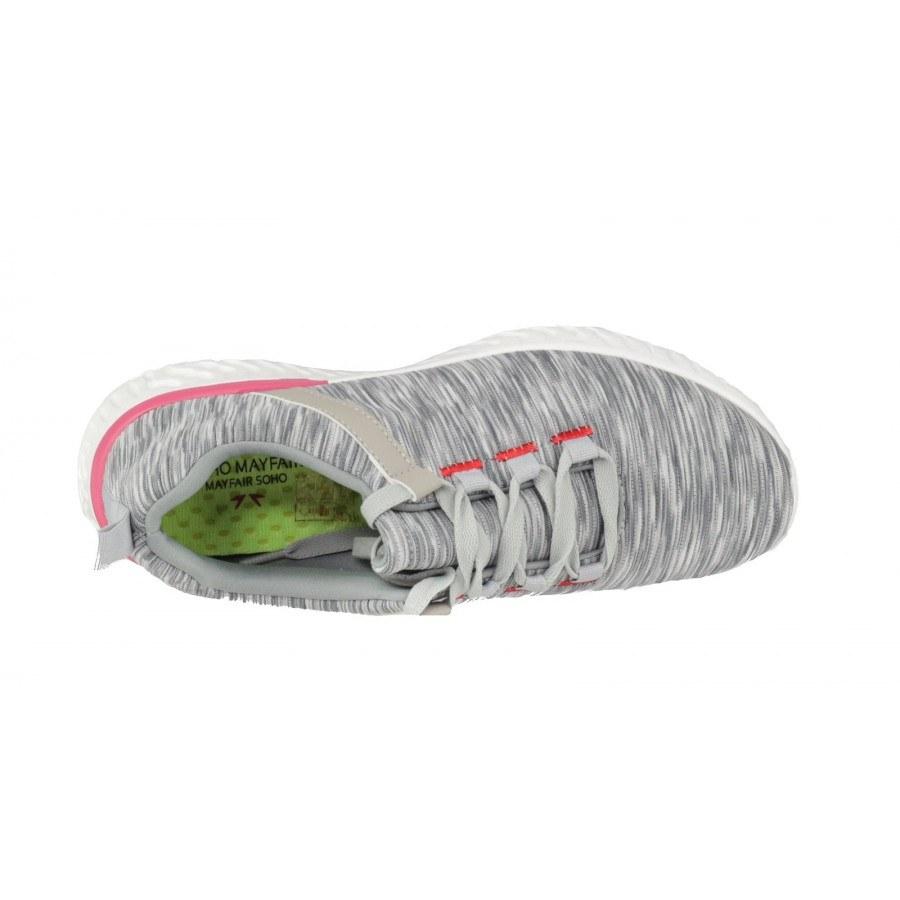 25de2cb7c0a ✓ Дамски спортни обувки с връзки Soho Mayfair сиви — Компас