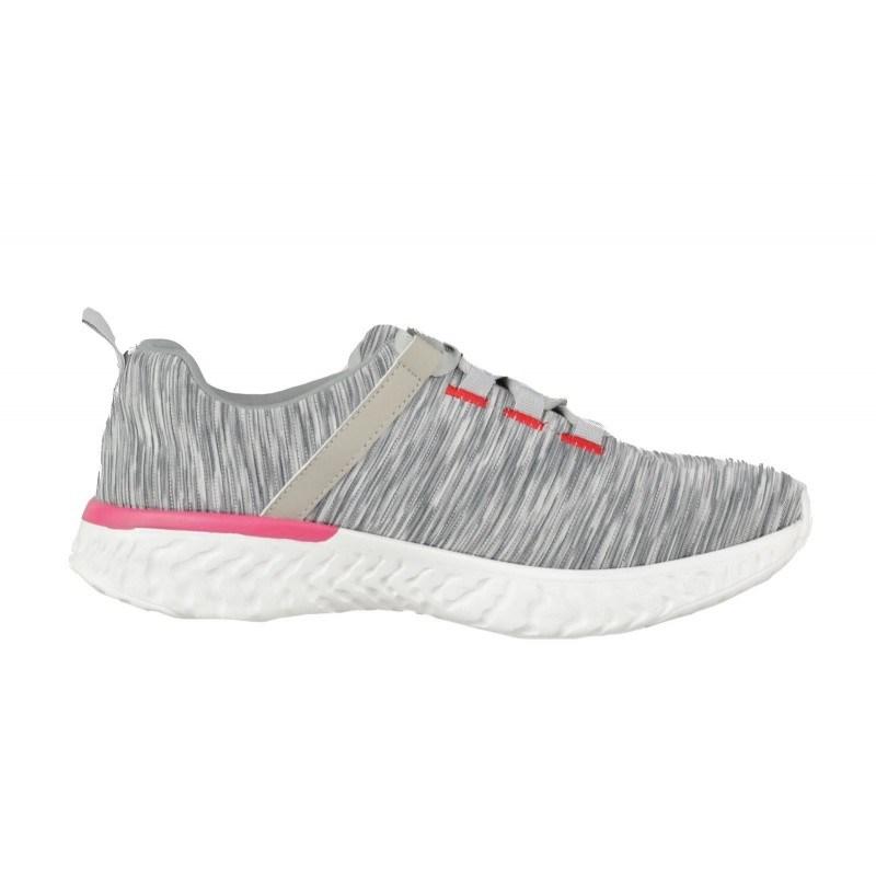 Дамски спортни обувки с връзки Soho Mayfair сиви