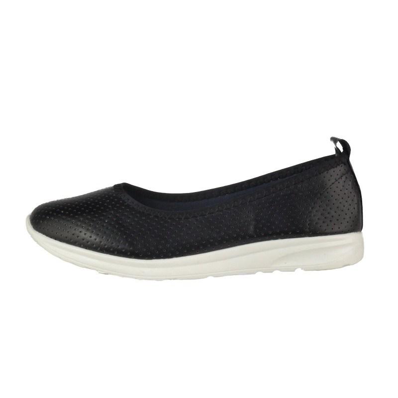 Дамски равни обувки без връзки Soho Mayfair черни