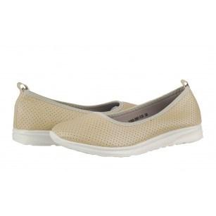 Дамски равни обувки без връзки Soho Mayfair бежови