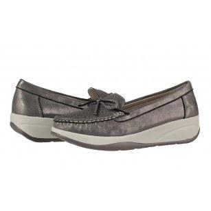 Дамски обувки на платформа Soho Mayfair сиви/сребристи