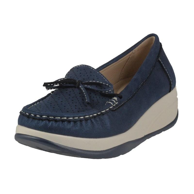 Дамски обувки на платформа Soho Mayfair сини