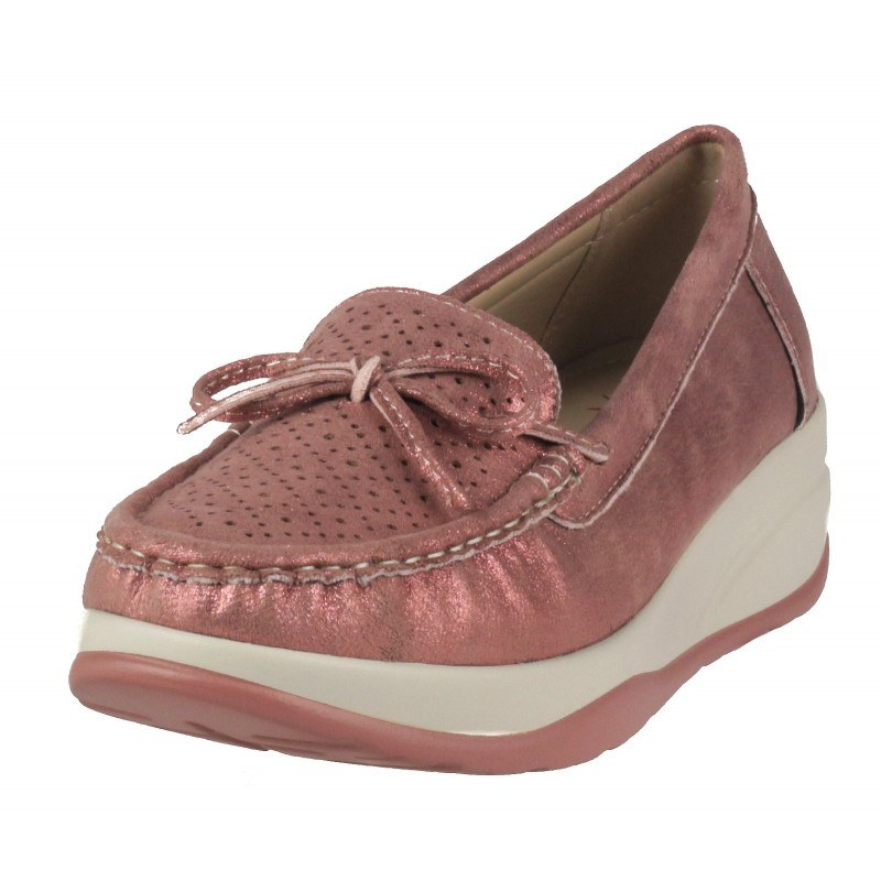 Дамски обувки на платформа Soho Mayfair розови