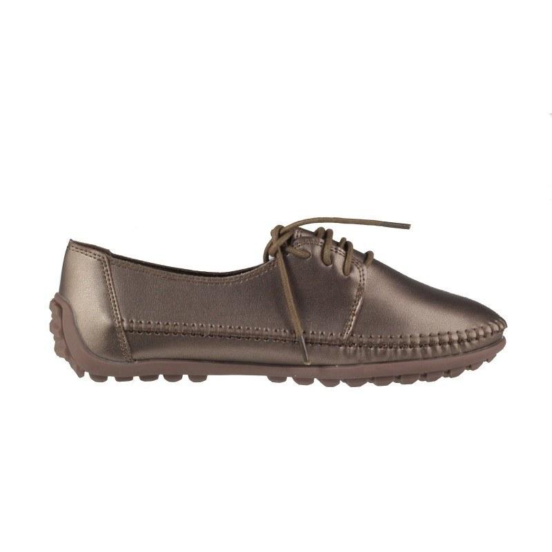 Дамски анатомични обувки с връзки Soho Mayfair бронз