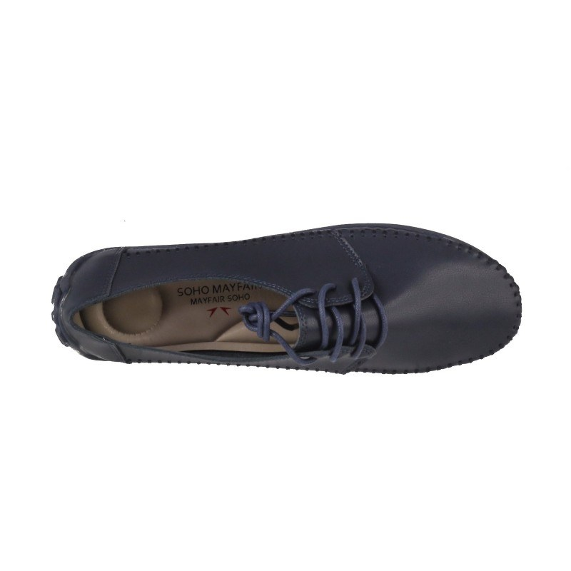 Дамски анатомични обувки с връзки Soho Mayfair сини