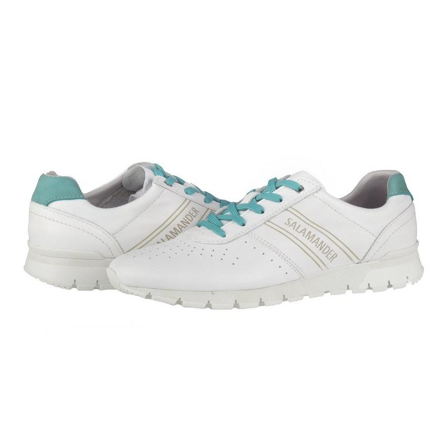 193717972ef Дамски спортни обувки естествена кожа Salamander бели