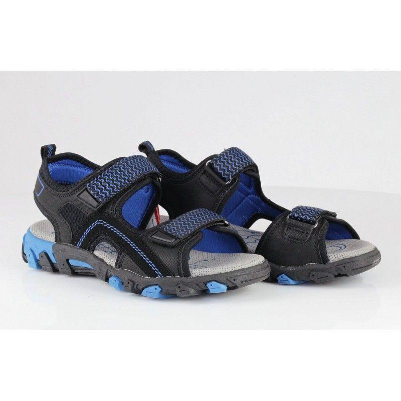 Ортопедични сандали Superfit черни/сини