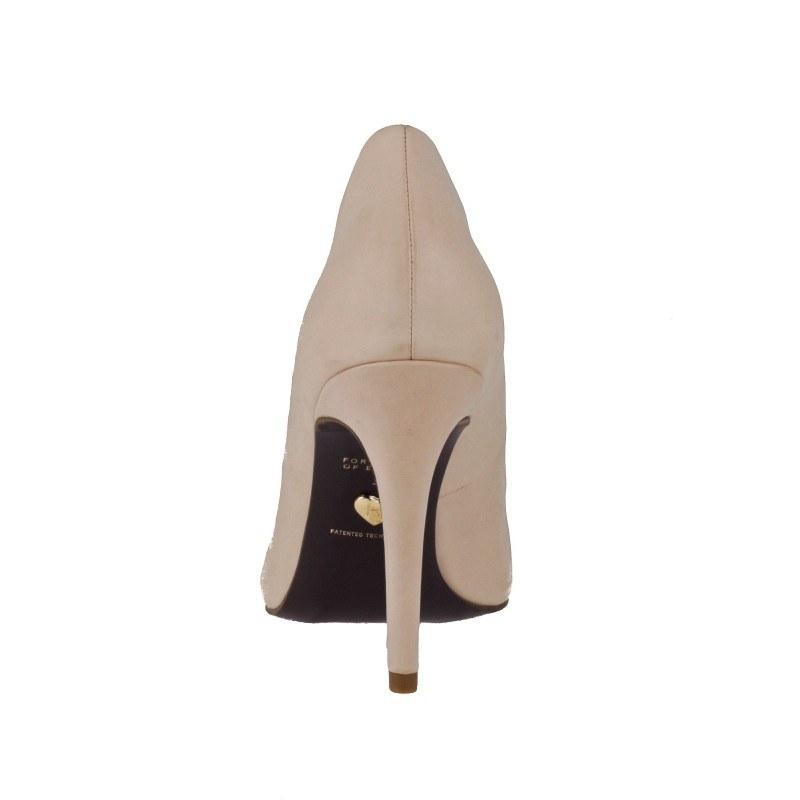 Дамски елегантни обувки на висок ток Tamaris HEART & SOLE естествена кожа розови