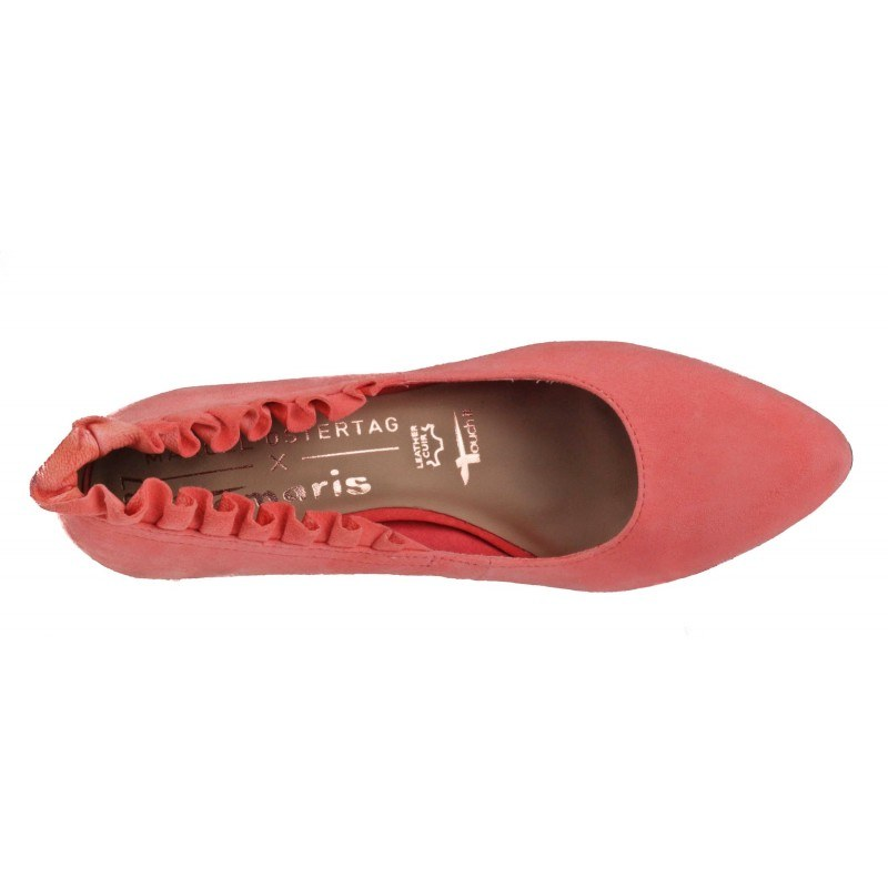 Дамски елегантни обувки на висок ток Tamaris мемори пяна Marcel —x— Ostertag розови