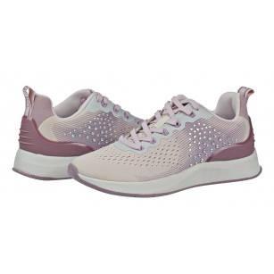 Дамски спортни обувки Tamaris Fashletics мемори пяна розово/лилави
