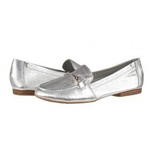 Дамски равни ежедневни обувки Tamaris сребристи