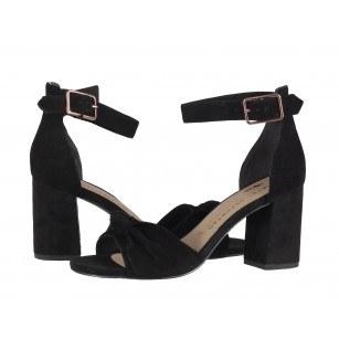 Дамски елегантни сандали на среден ток Tamaris мемори пяна Marcel —x— Ostertag черни