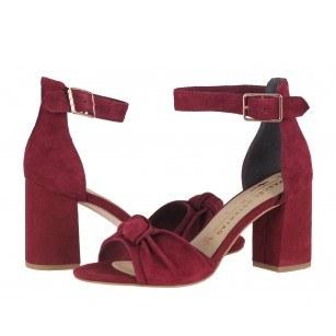 Дамски елегантни сандали на среден ток Tamaris мемори пяна Marcel —x— Ostertag бордо