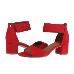 Дамски сандали на нисък ток Тamaris естествена кожа ANTISHOKK ANTISLIDE TOUCH IT