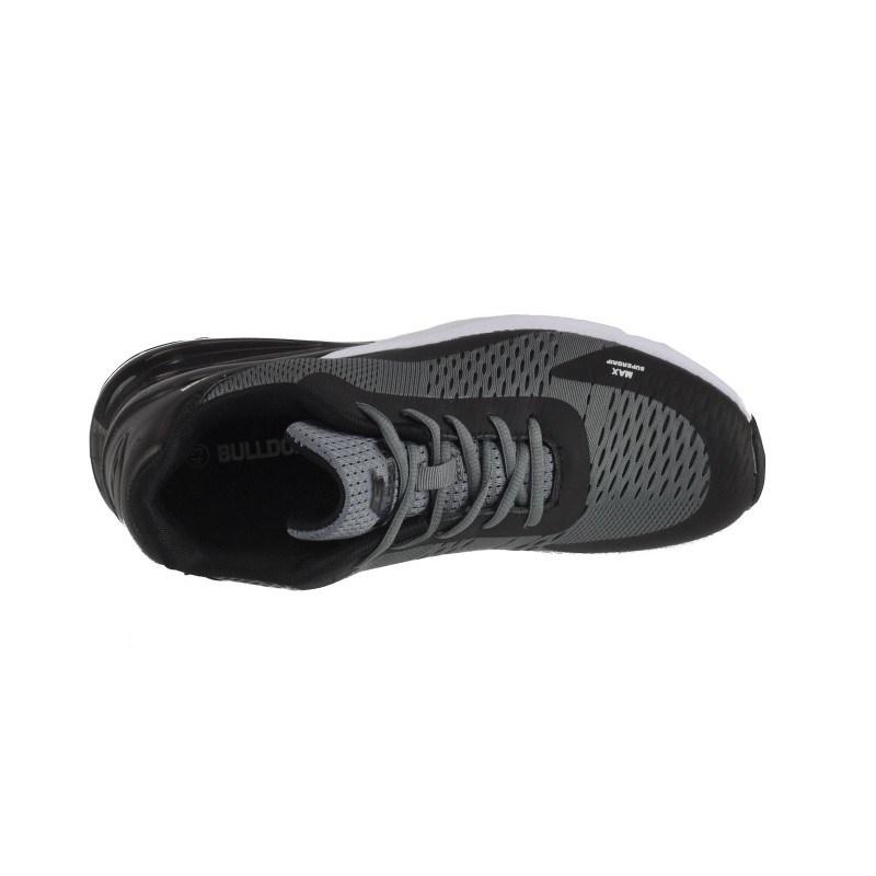 Мъжки маратонки Bulldozer черни/сиви