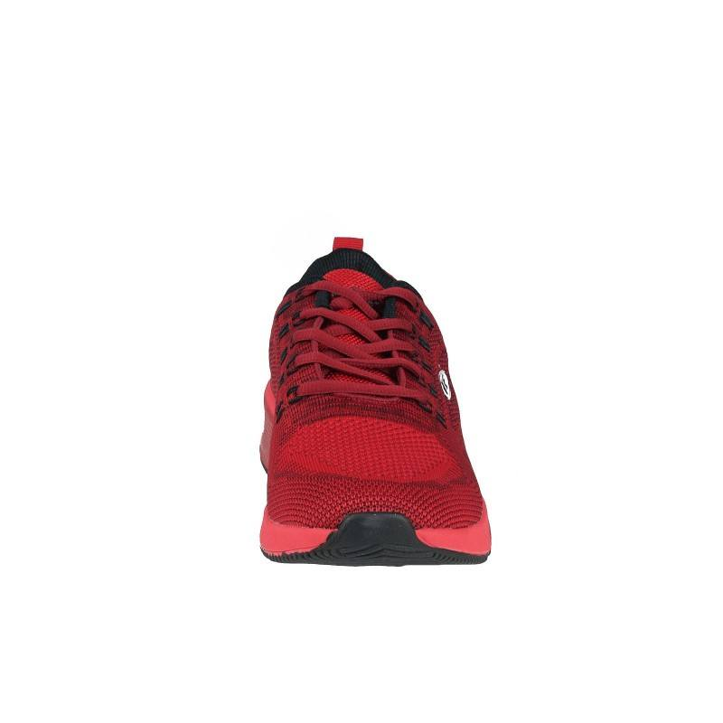 Мъжки маратонки Bulldozer с връзки червени