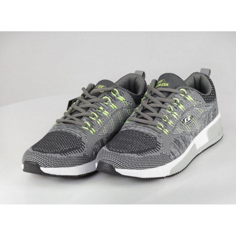 Мъжки маратонки Bulldozer с сиви/зелени