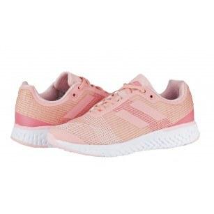 Дамски маратонки с връзки Bulldozer розов
