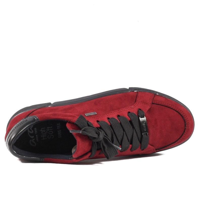 Дамски анатомични спортни обувки Ara GORE-TEX® НЕПРОМОКАЕМИ бордо