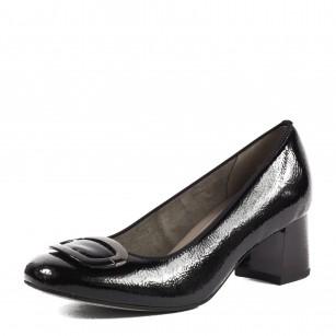 Дамски елегантни обувки на среден ток Ara черни