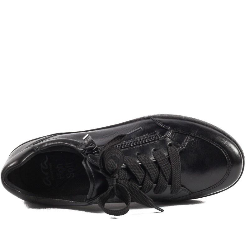 Дамски анатомични спортни обувки на платформа Ara черни
