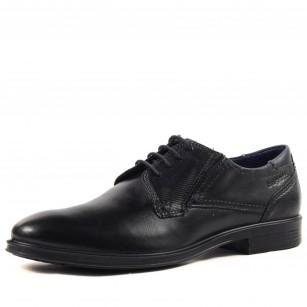 Мъжки елегантни обувки Bugatti Leolo черни