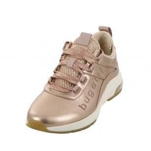 Дамски спортни обувки с връзки Bugatti Alaris розово злато