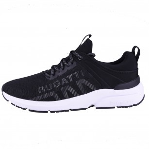 Мъжки спортни обувки с връзки Bugatti® KILAWEA черни
