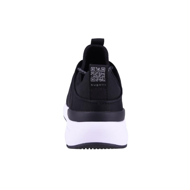 Мъжки спортни обувки с връзки Bugatti® черни