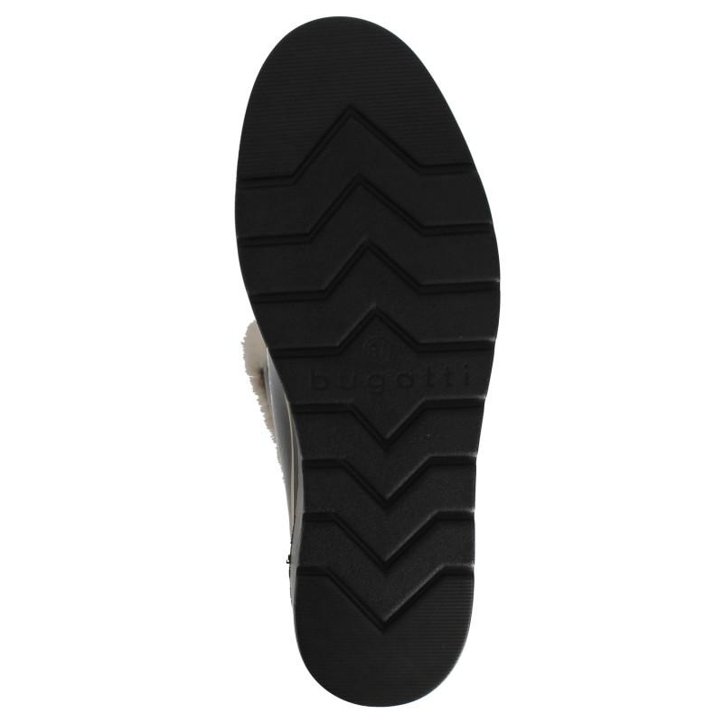 Дамски ботуши на платформа Bugatti Marcella тъмно кафяви