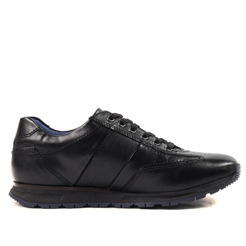 Мъжки спортно-елегантни обувки Bugatti Stranger черни