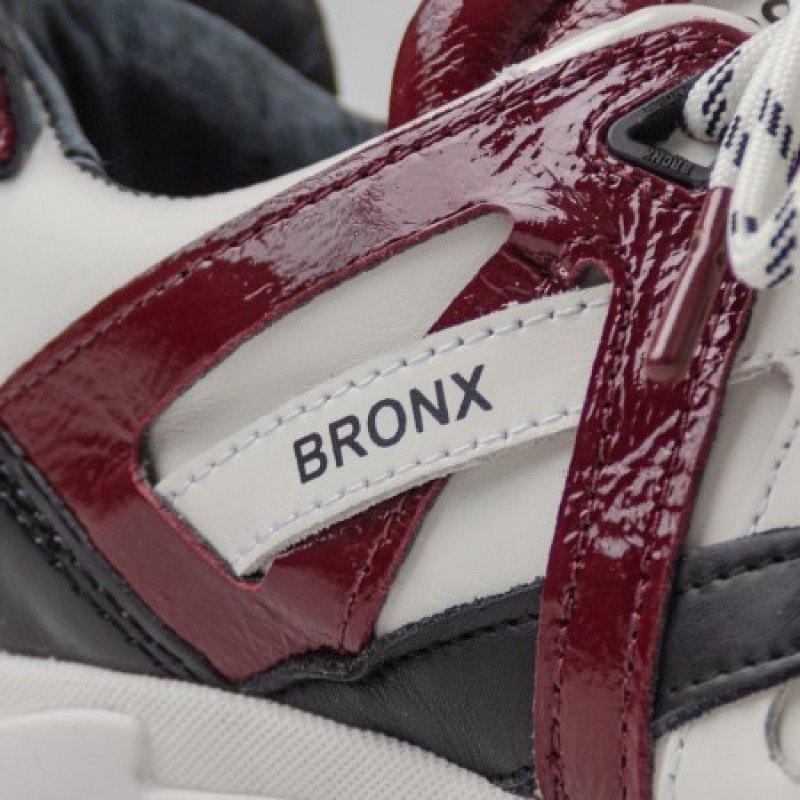 Дамски спортни обувки естествена кожа Bronx 66280-AH-3127