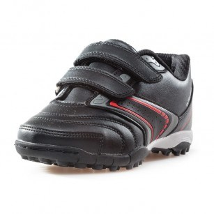 Детски маратонки с лепки за момче Bulldozer черни 30-35