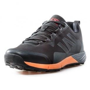 Мъжки маратонки с връзки Bulldozer черни/оранжеви