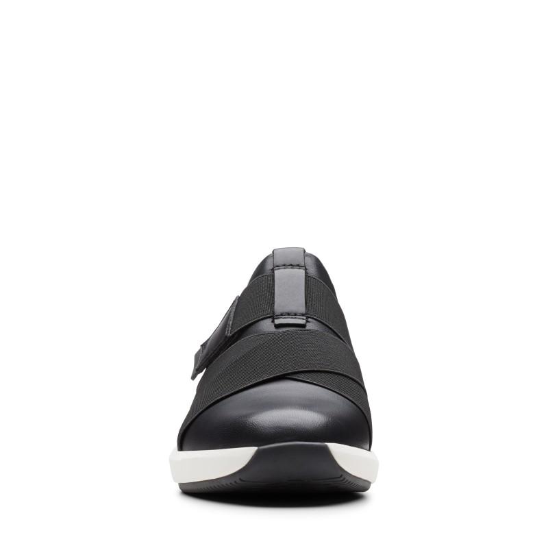 Дамски обувки на платформа Clarks Un Rio Strap черни