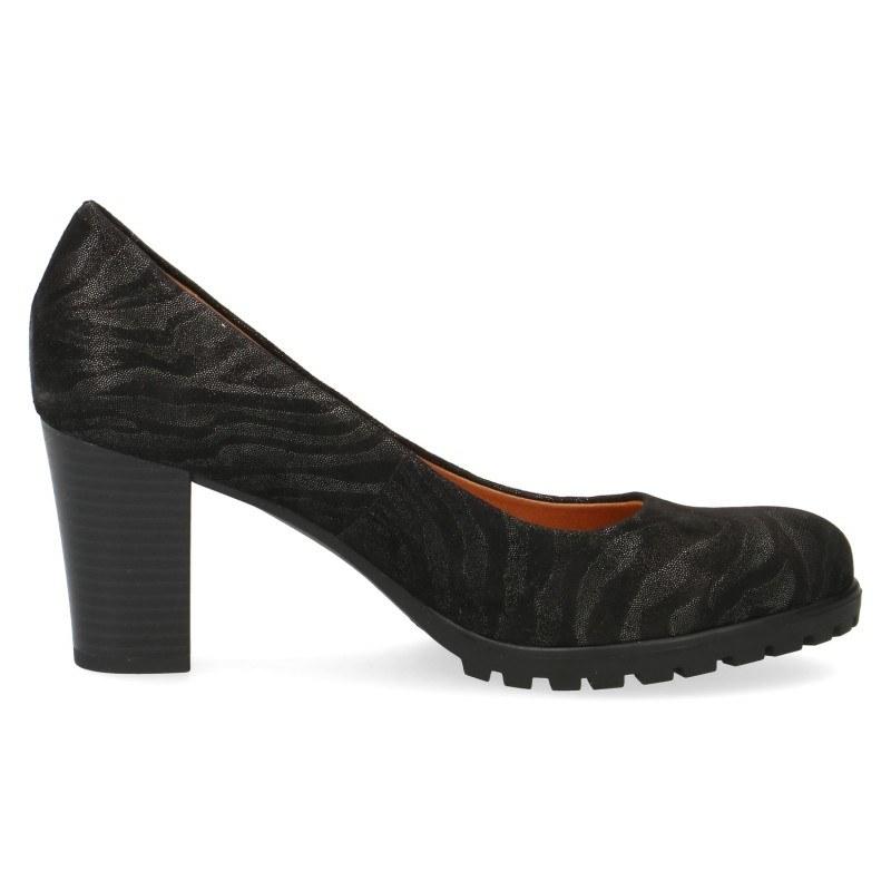 Дамски обувки на ток Caprice черни