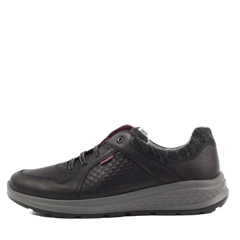 Мъжки кожени обувки Grisport АCTIVE черни