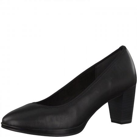 Дамски обувки на ток Marco Tozzi мемори пяна черни