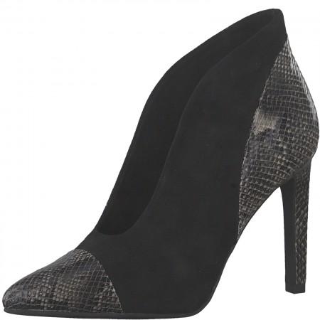 Дамски обувки на висок ток Marco Tozzi черни