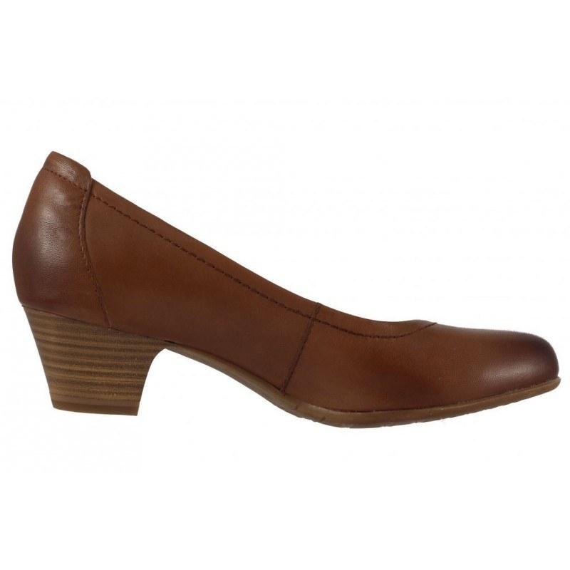 Дамски обувки на ток Tamaris кафяви мемори пяна