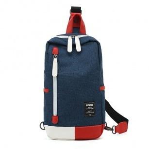 Чанта Ozuko с една презрамка синя